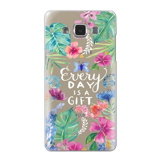 Samsung Galaxy A5 Cases - Every Day is a Gift Tropical
