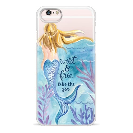 iPhone 6s Cases - Wild and Free Mermaid Blond