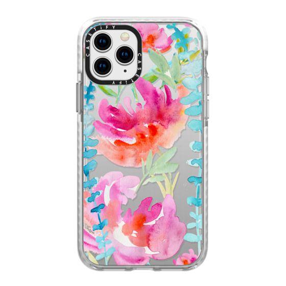 iPhone 11 Pro Cases - Floral Eucaliptus
