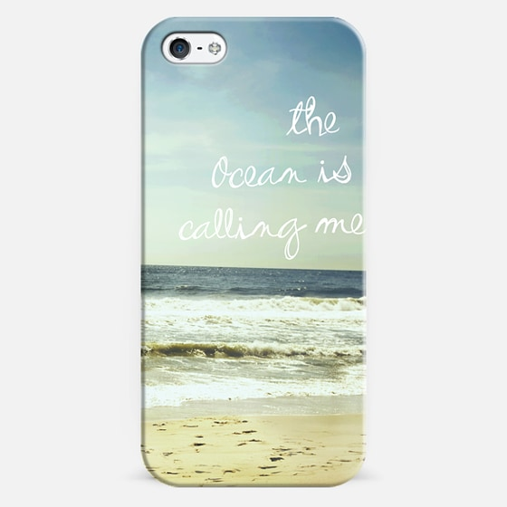 OBX The Ocean is Calling Me - Classic Snap Case