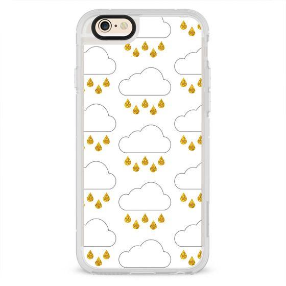 iPhone 6s Cases - Glitter Rain