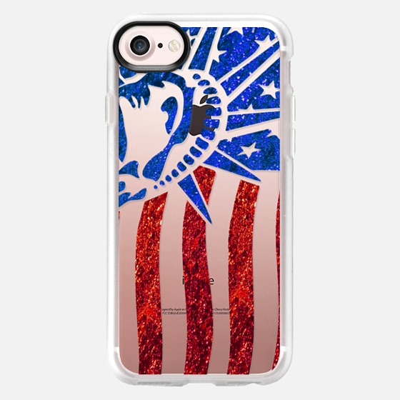 American liberty flag - Wallet Case
