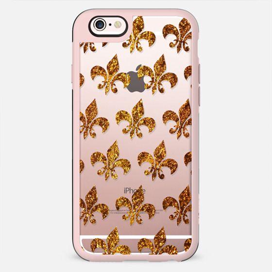 fleur gold transparent - New Standard Case