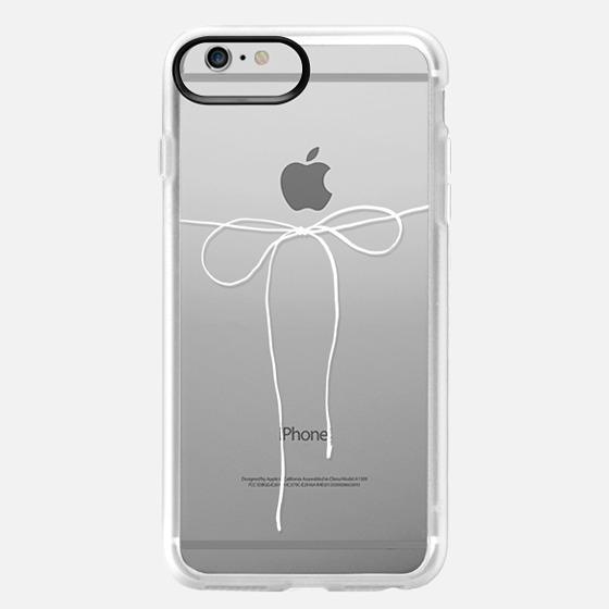 iPhone 6 Plus Case - TAKE A BOW II - BLANC
