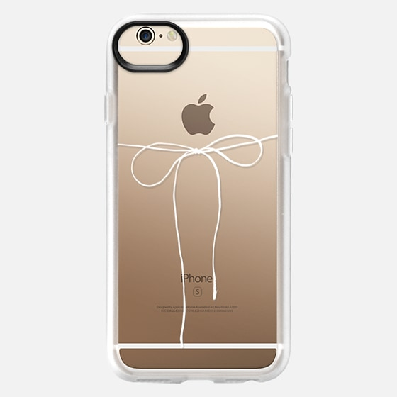 iPhone 6 Case - TAKE A BOW II - BLANC