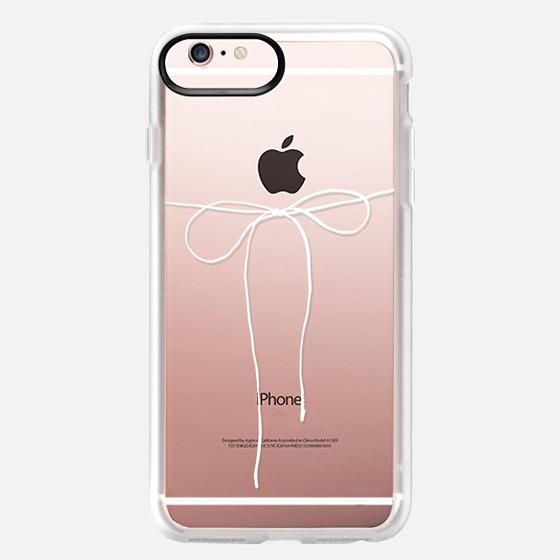 iPhone 6s Plus Case - TAKE A BOW II - BLANC