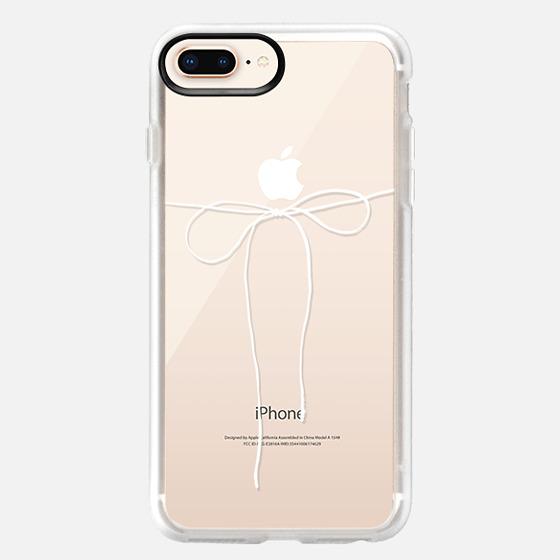 iPhone 8 Plus 保護殼 - TAKE A BOW II - BLANC