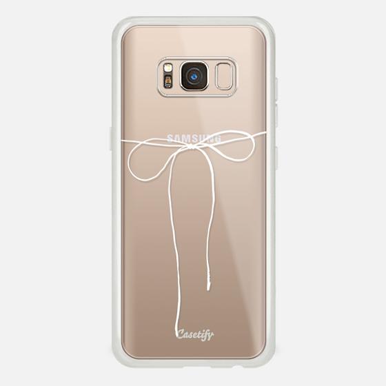 Galaxy S8 Case - TAKE A BOW II - BLANC