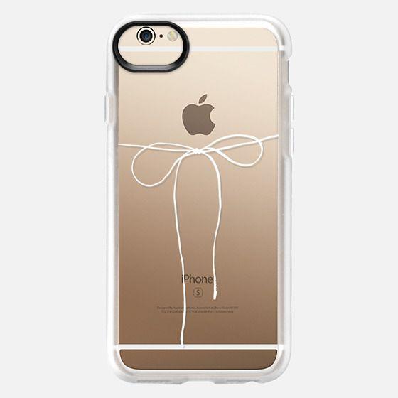 iPhone 6 Case - TAKE A BOW II - BLANC