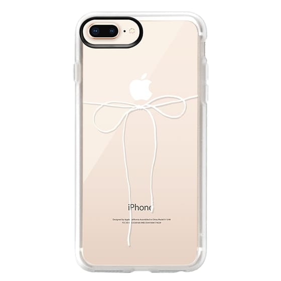 iPhone 8 Plus Case - TAKE A BOW II - BLANC
