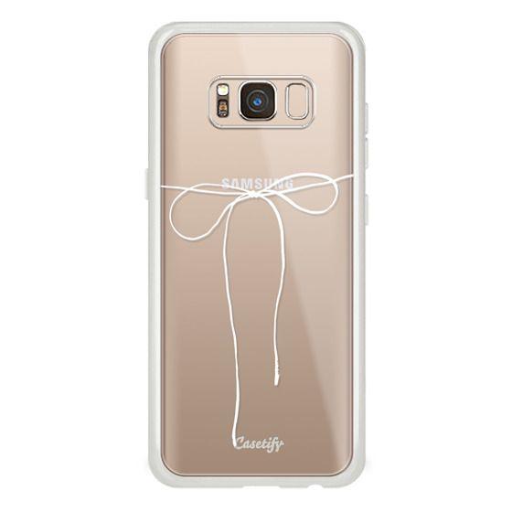 Galaxy S8 保護殼 - TAKE A BOW II - BLANC