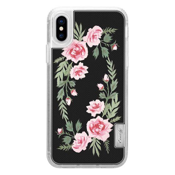 iPhone X Cases - FIFI FLORA   NOIR