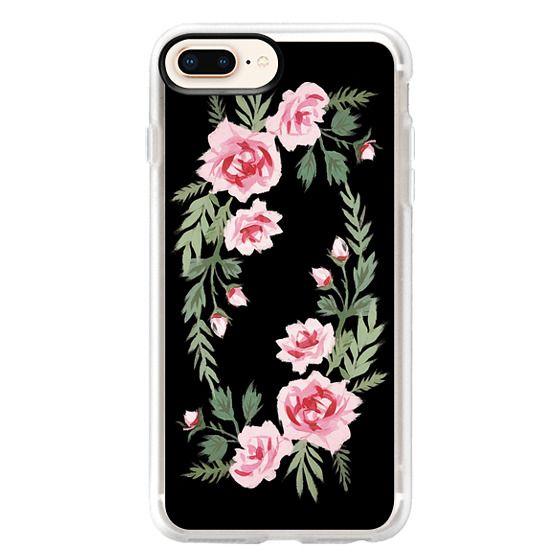 iPhone 8 Plus Cases - FIFI FLORA   NOIR