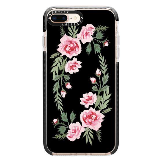iPhone 8 Plus Cases - FIFI FLORA | NOIR