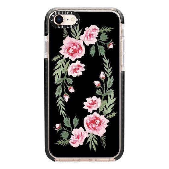 iPhone 8 Cases - FIFI FLORA   NOIR