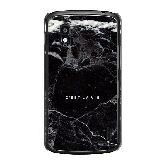 Nexus 4 Cases - C'EST LA VIE / B