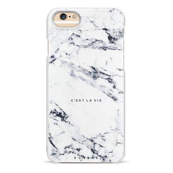 iPhone 6 Cases - C'EST LA VIE / W / MARBLE