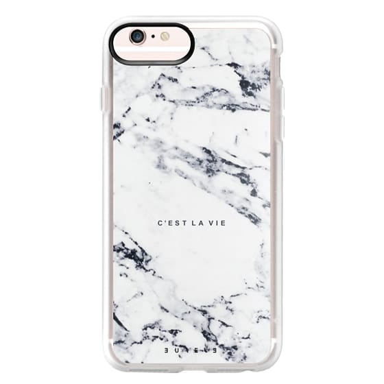 iPhone 6s Plus Cases - C'EST LA VIE / W / MARBLE