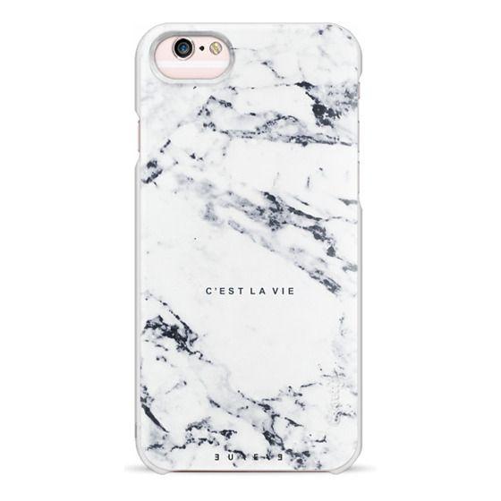 iPhone 6s Cases - C'EST LA VIE / W / MARBLE