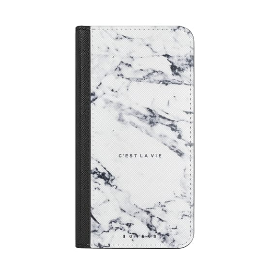 iPhone 7 Plus Cases - C'EST LA VIE / W / MARBLE