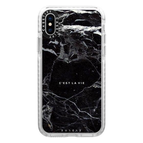 iPhone X Cases - C'EST LA VIE / B