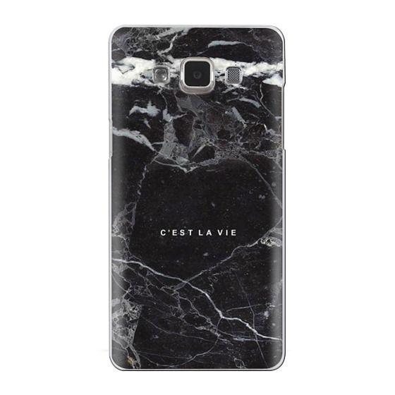 Samsung Galaxy A5 Cases - C'EST LA VIE / B