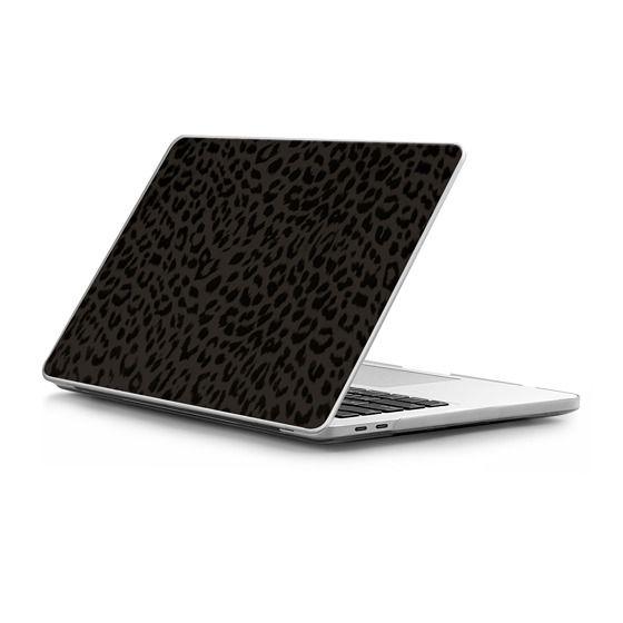 "MacBook Pro Touchbar 13 Sleeves - Leon Leopard - Black - Mac 13"" Case"