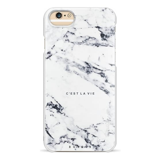 iPhone 6 Cases - C'EST LA VIE / W / MARBLE
