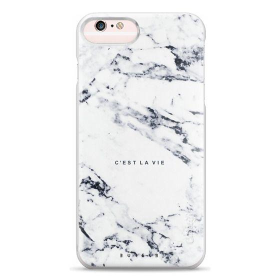 iPhone 6s Plus Cases - C'EST LA VIE / W / MARBLE