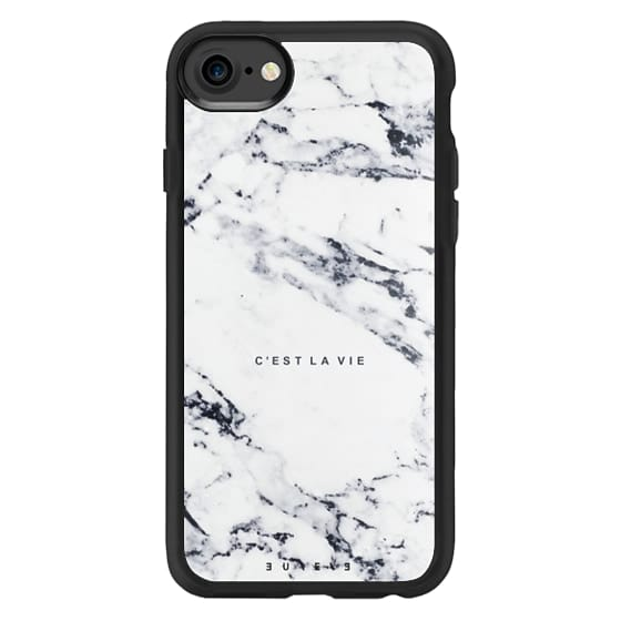 iPhone 7 Cases - C'EST LA VIE / W / MARBLE