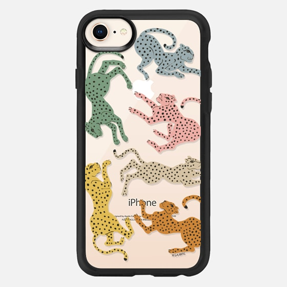 iPhone 7 Plus/7/6 Plus/6/5/5s/5c Case - Rainbow Cheetah by Megan Galante