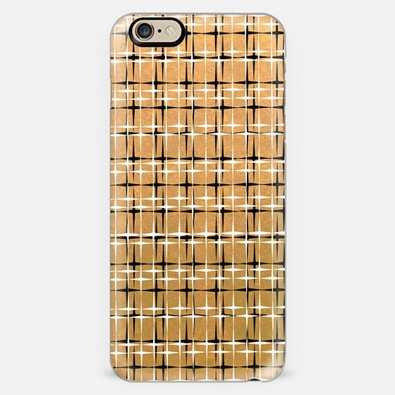 SPARKLE AND SHINE Glam Solid Warm Gold Color Yellow Metallic Shimmer Black White Stars Pattern Design Modern Chic Trendy Ebi Emporium Festive Holiday Cool Colorful New Years Style -