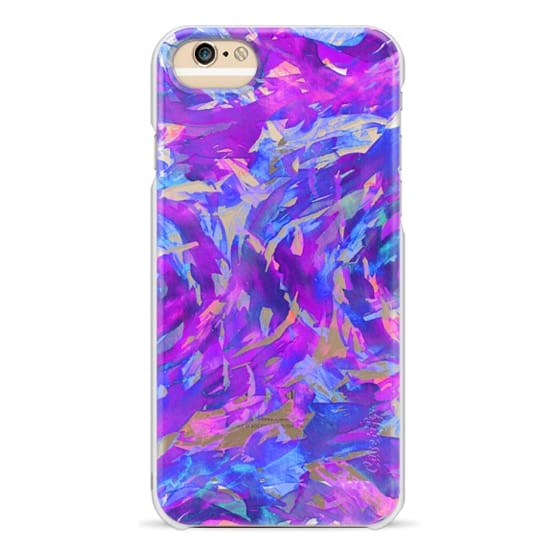 iPhone 6s Cases - MOTLEY FLOW 2 - Orchid Plum Purple Blue Pink Swirls Watercolor Painting Fine Art Colorful Bold Abstract Whimsical Girly Chic Pretty Transparent Modern Ocean Waves Feminine Lavender Design