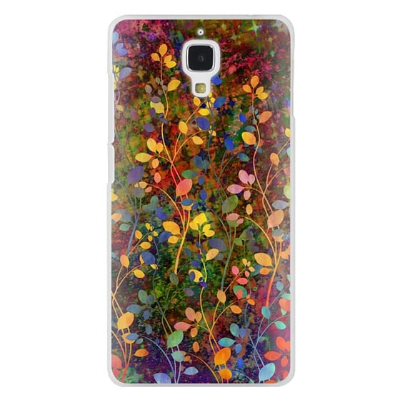 Xiaomi 4 Cases - AMONGST THE FLOWERS Rainbow Array - Colorful Abstract Summer Floral Pattern Green Red Blue Yellow Garden Flowers Lovely Girly Nature Fine Art Painting Design