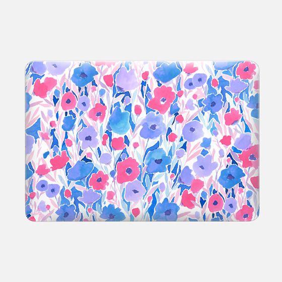 Flower Field Lilac Blue -
