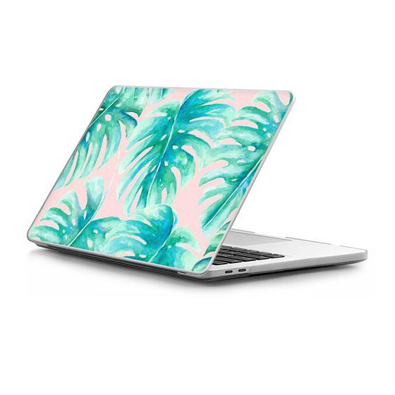MacBook Pro Touchbar 13 Sleeves - Paradise Palms Blush