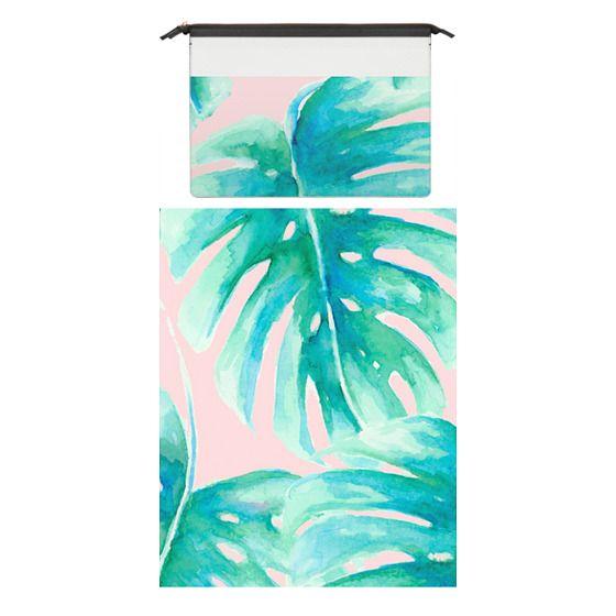 MacBook Pro Retina 15 Sleeves - Paradise Palms Blush