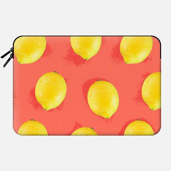 Watercolor Lemons -
