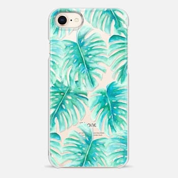iPhone 8 Case Paradise Palms Clear