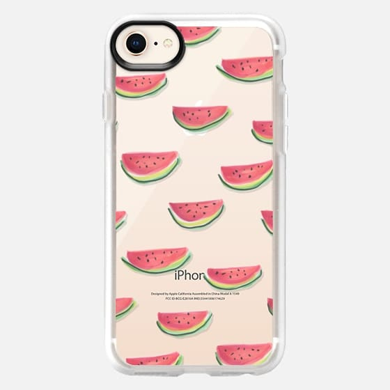 Watercolor Watermelon Clear - Snap Case