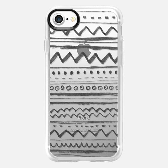 Tribal transparente - Snap Case