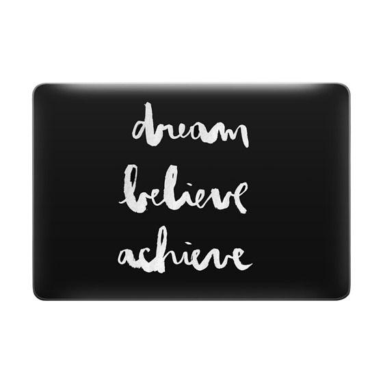 Dream Believe Achieve black