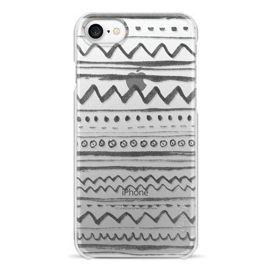iPhone 7 Cases - Tribal transparente