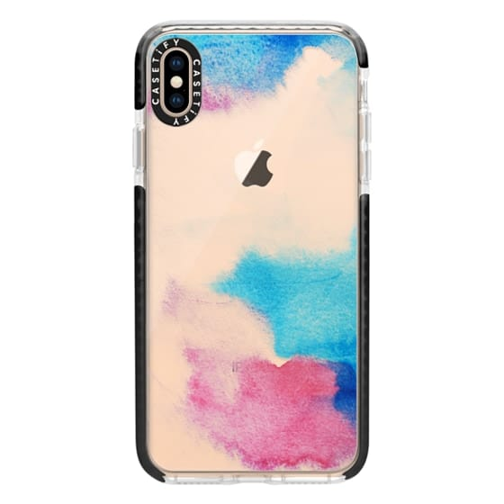 iPhone XS Max Cases - Nirvana transparente