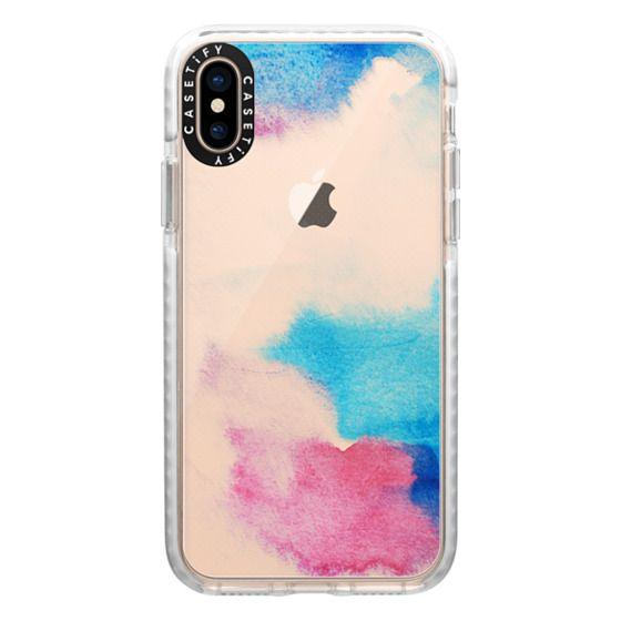 iPhone XS Cases - Nirvana transparente