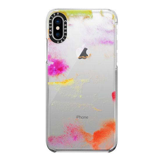 iPhone X Cases - Amanecer transparente