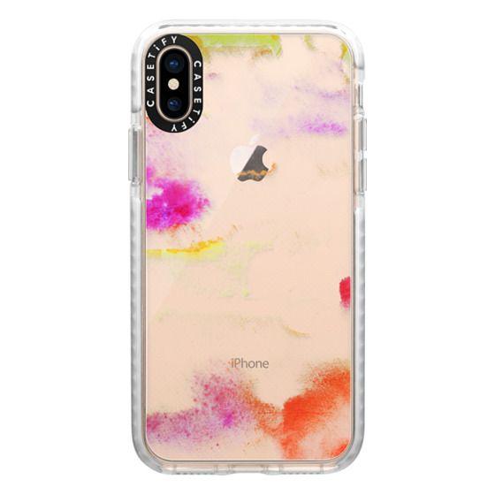 iPhone XS Cases - Amanecer transparente
