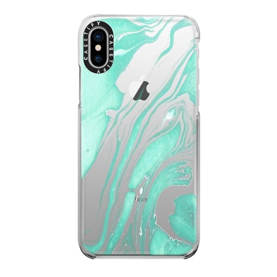iPhone X Cases - So quiet transparente