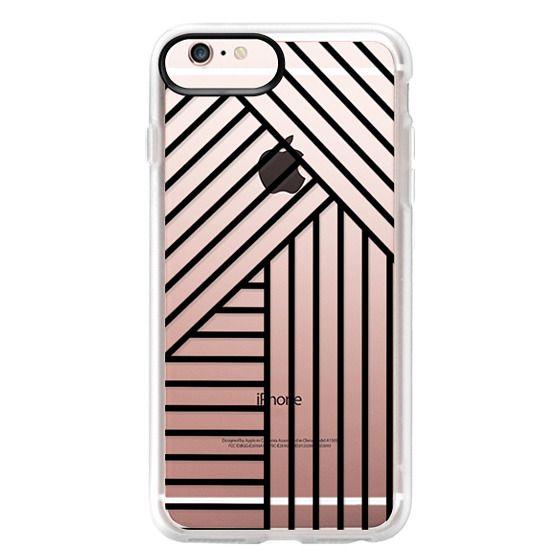 iPhone 6s Plus Cases - Stripes transparente