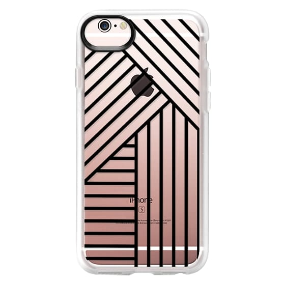 iPhone 6s Cases - Stripes transparente